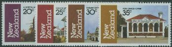 NZ SG1262-5 Architecture (3rd series) set of 4